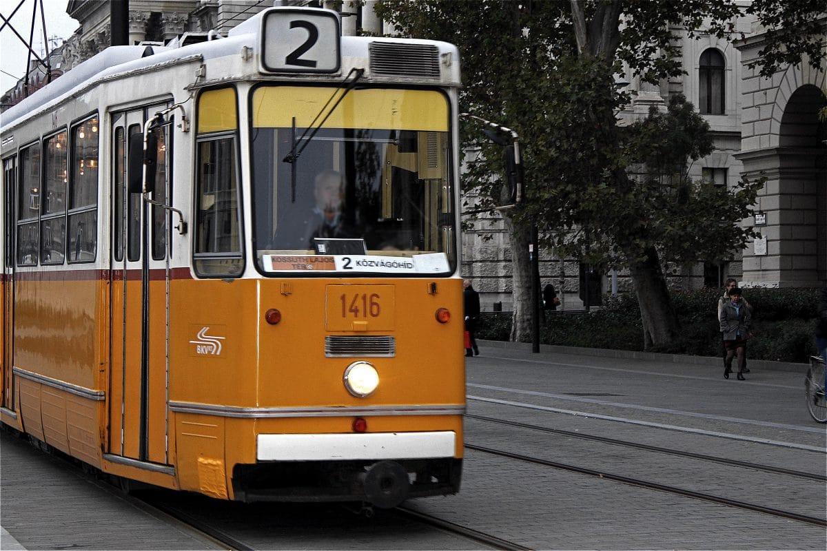 Shorttrip to Budapest: Straßenbahn Tram