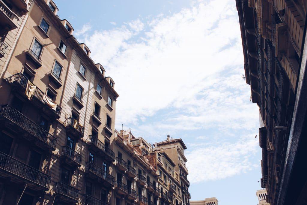 Barcelona Himmel