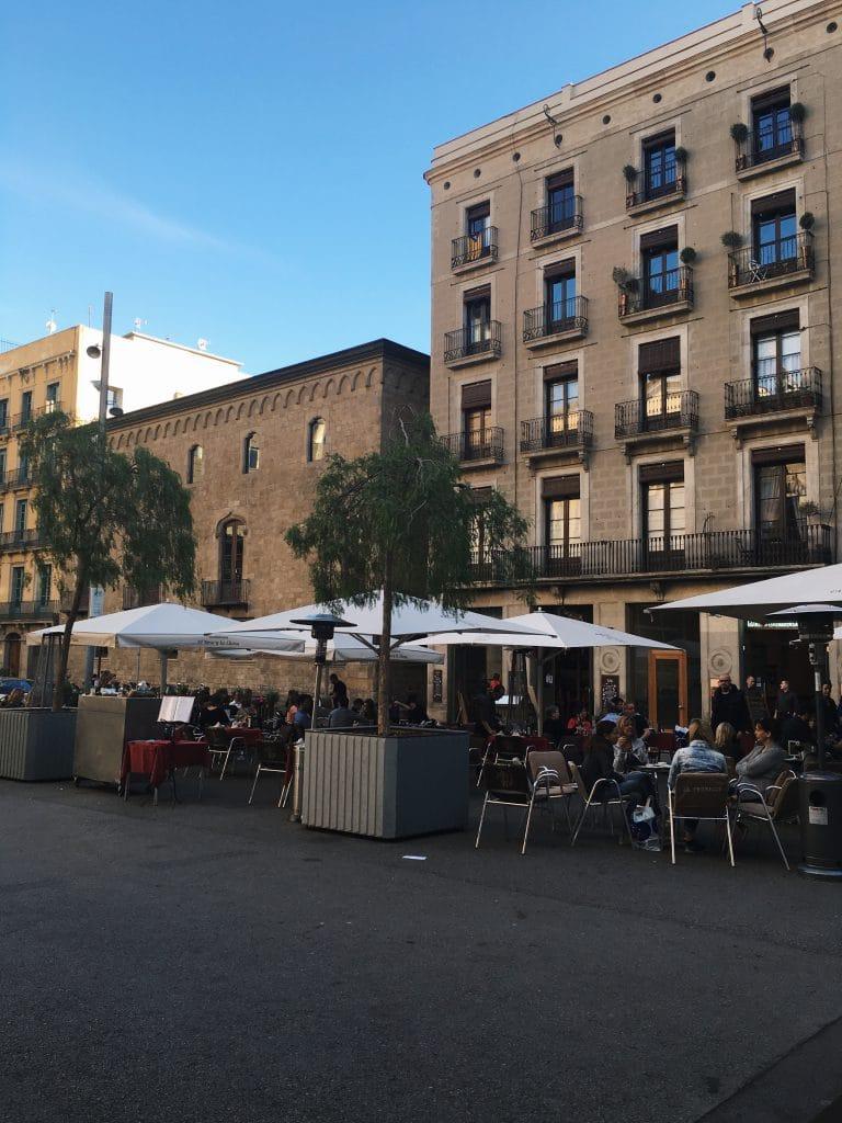 Platz Barcelona