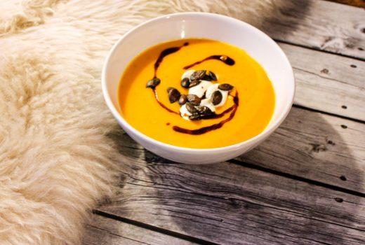 Herbstliche Kürbissuppe