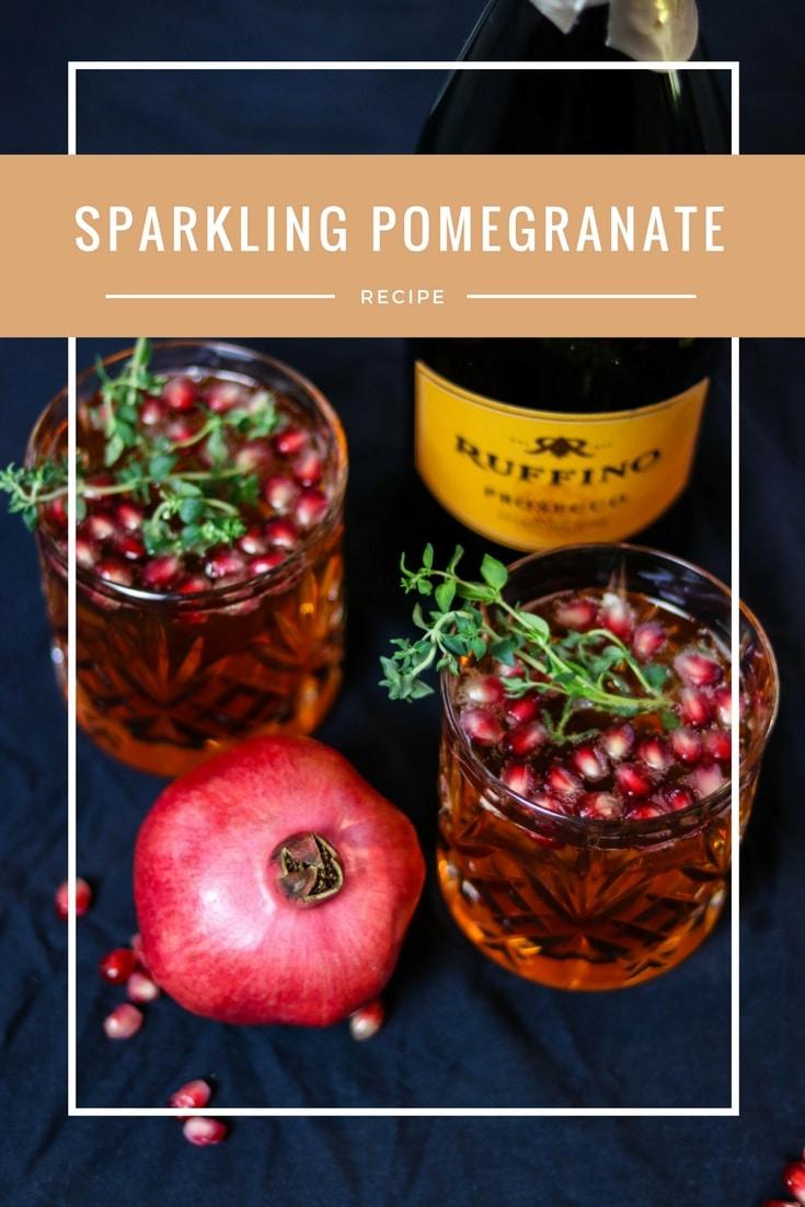 granatapfel cocktail pin it