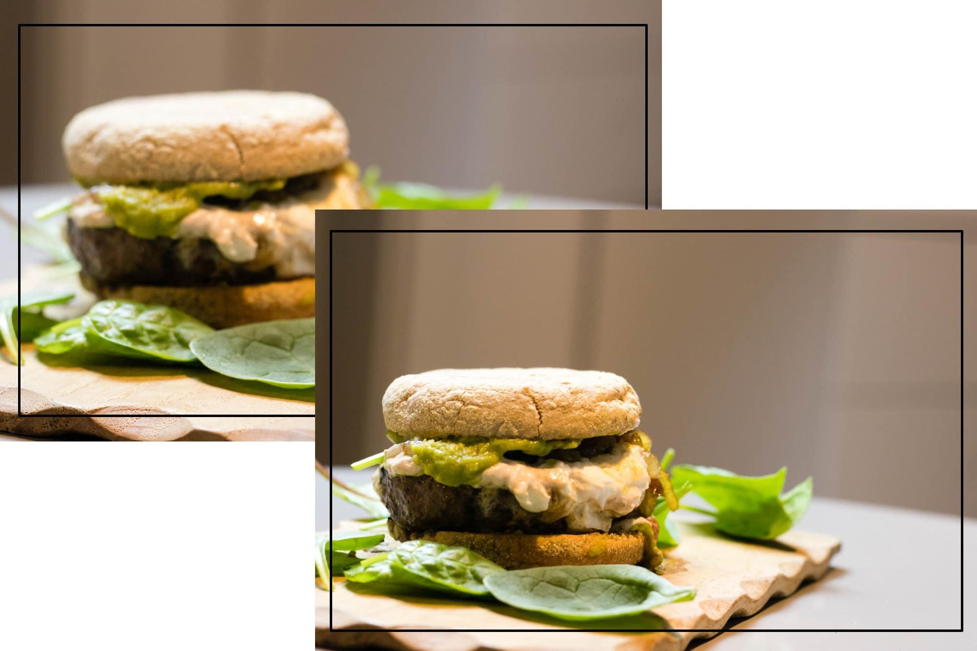 Guacamole Burger mit Ziegenkäse: bild 2
