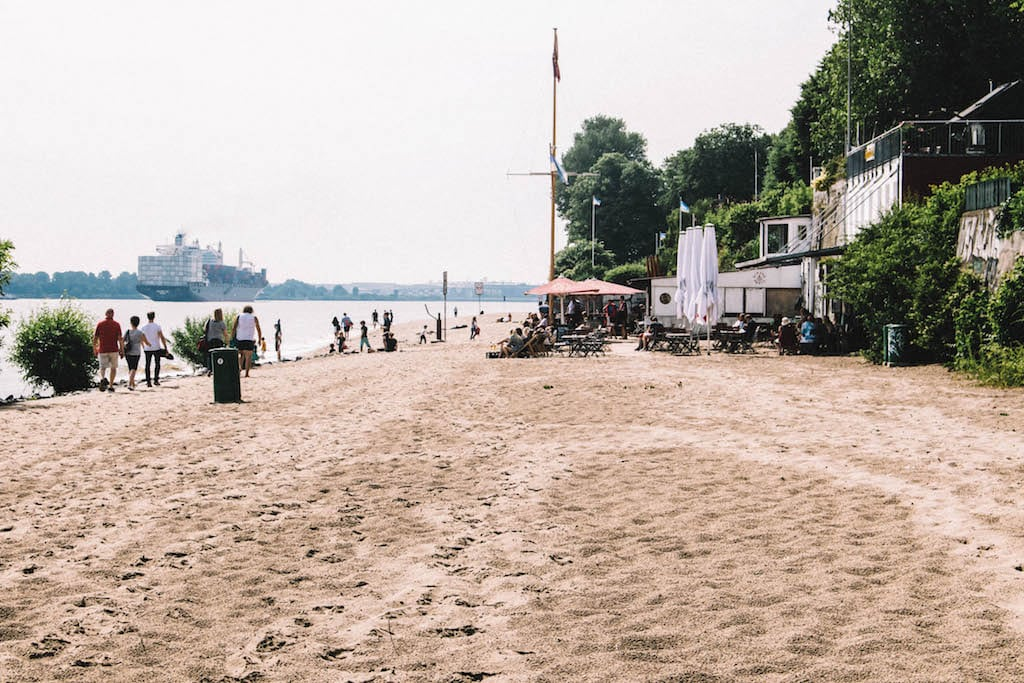 Hamburg beste Joggingstrecken Elbstrand