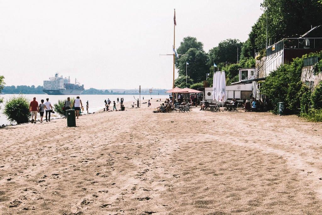 Hamburg beste Joggingstrecken Elbstrand