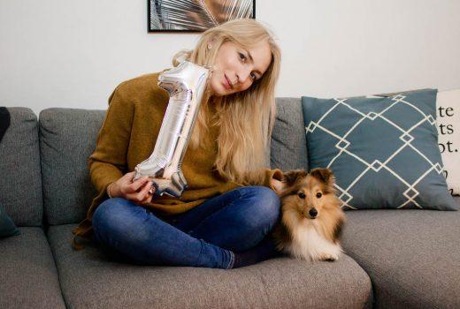 Ein Jahr mit Hund Sheltie Emmi