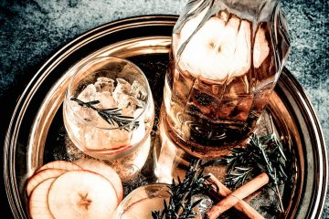 apfel zimt gin cocktail silvester blog comfort zone