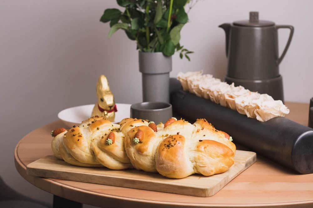 einfacher hefezopf zu ostern
