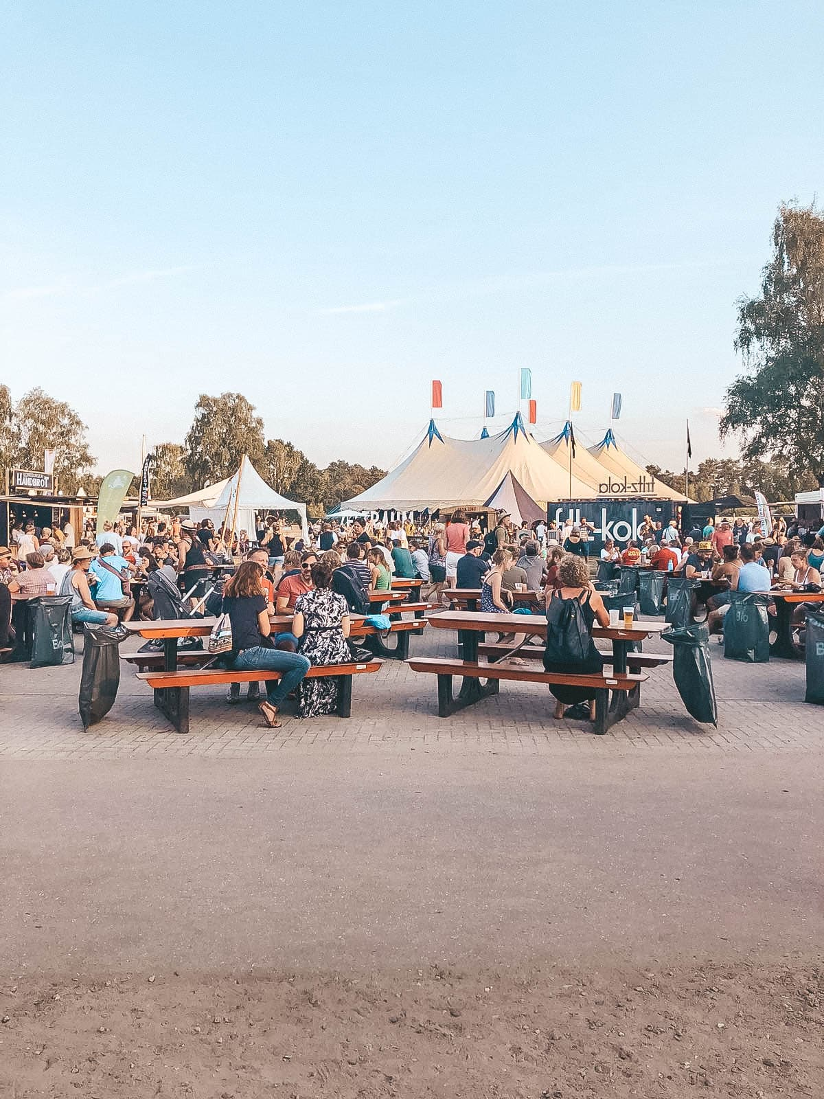a summers tale festival food court