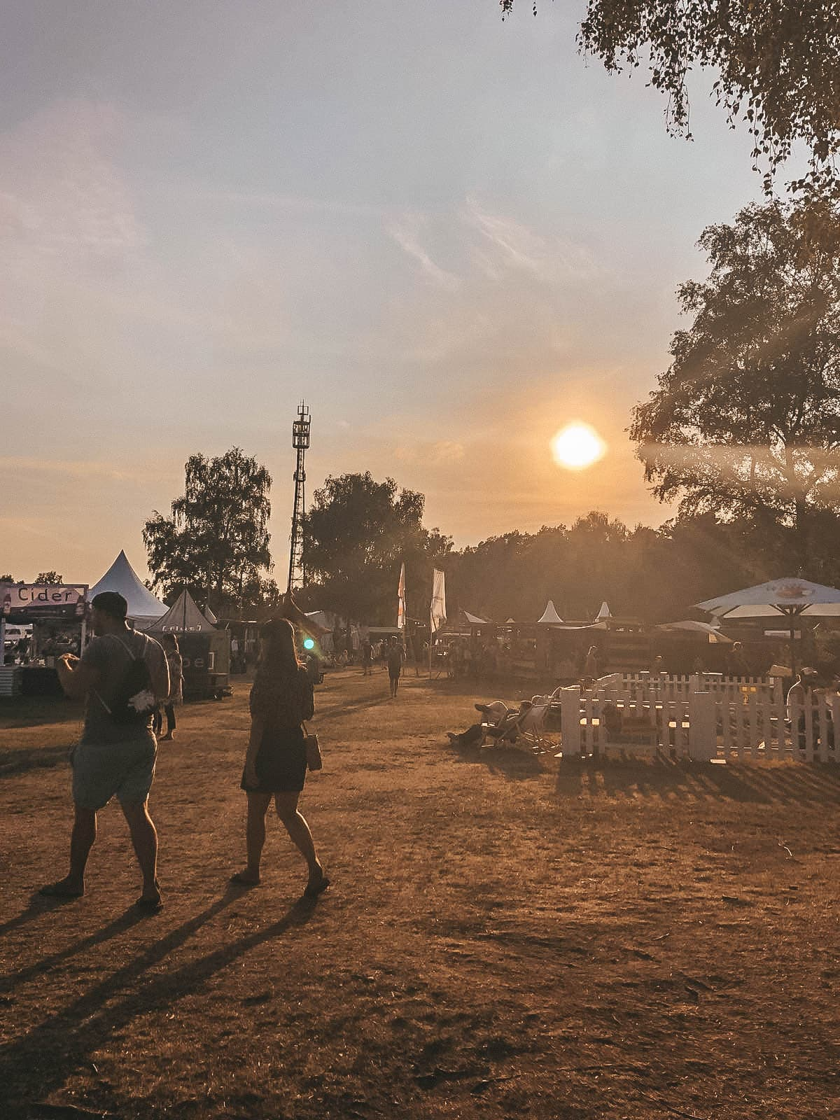 a summers tale festival sunset