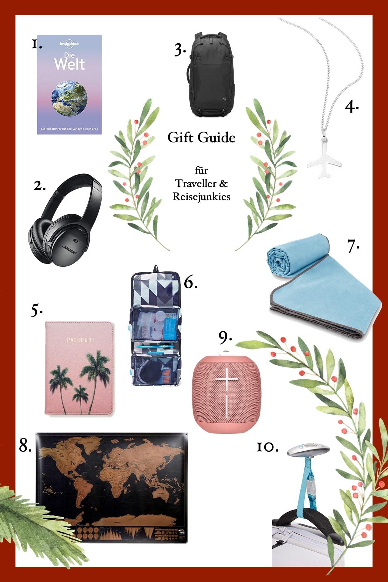 weihnachtsgeschenkideen fuer reisejunkies und traveller