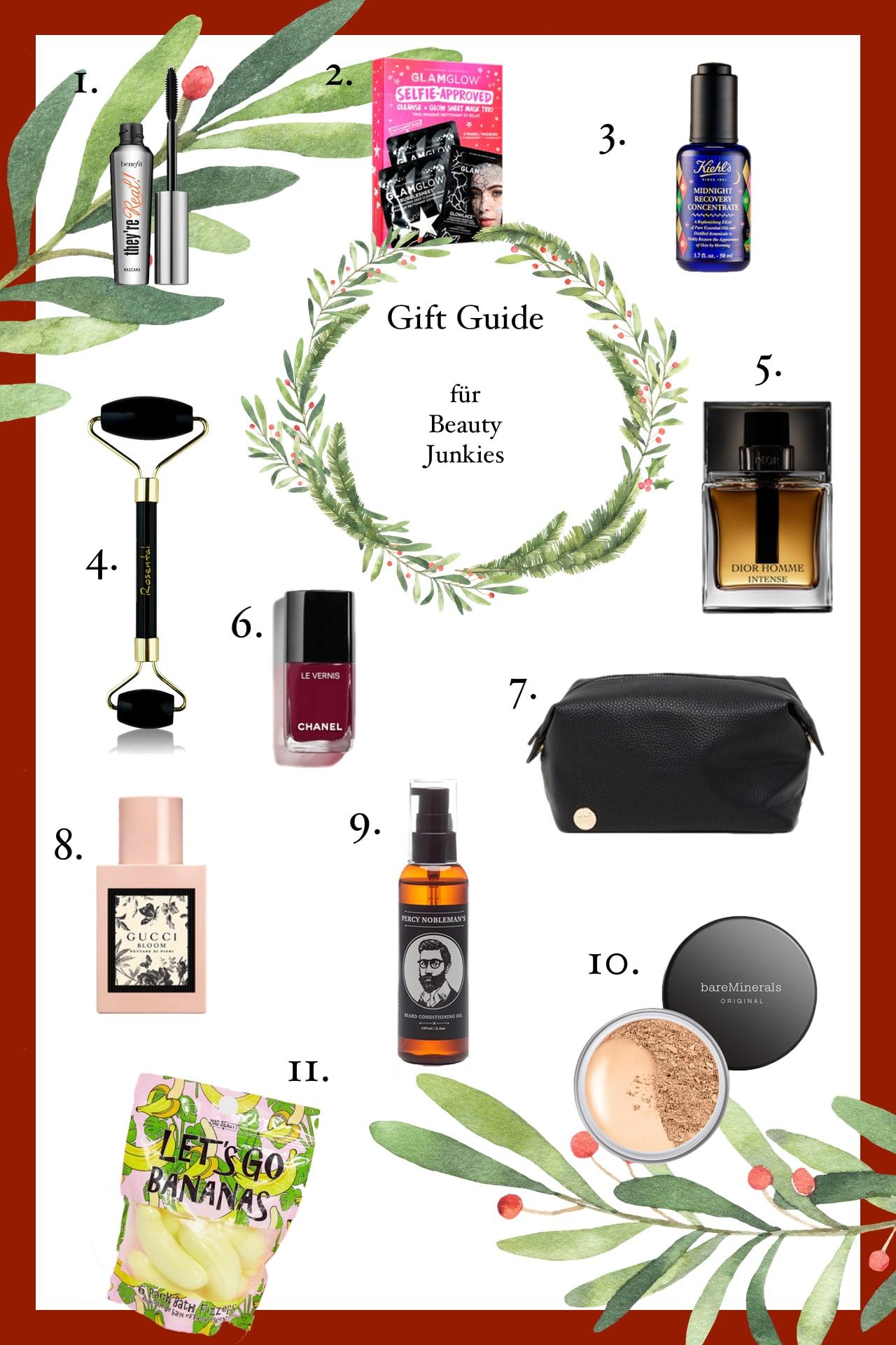 weihnachtsgeschenke für beauty junkies