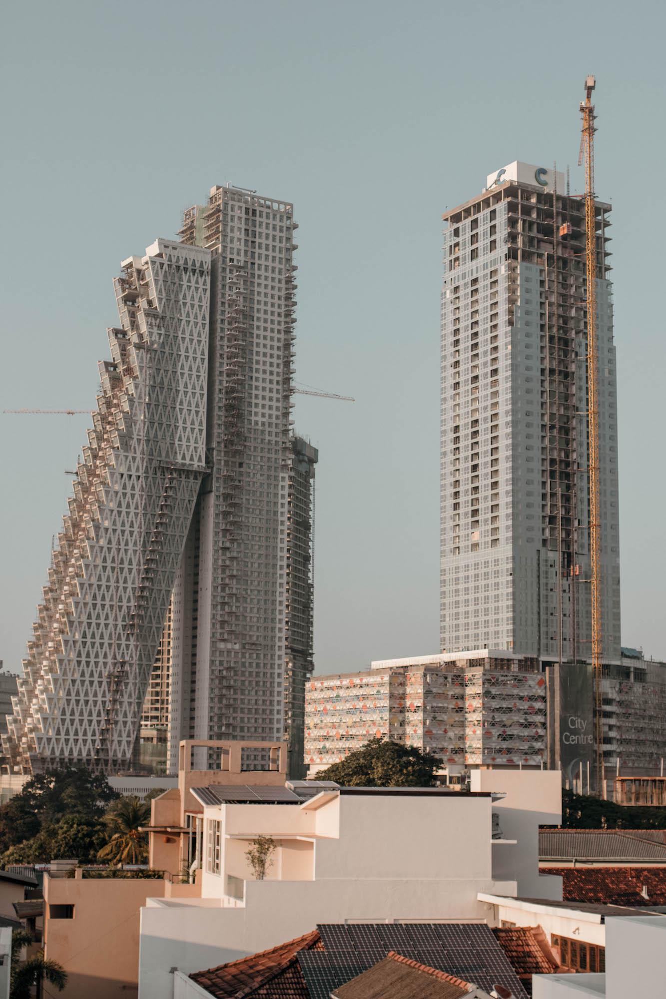 Colombo Sri Lanka Hochhäuser