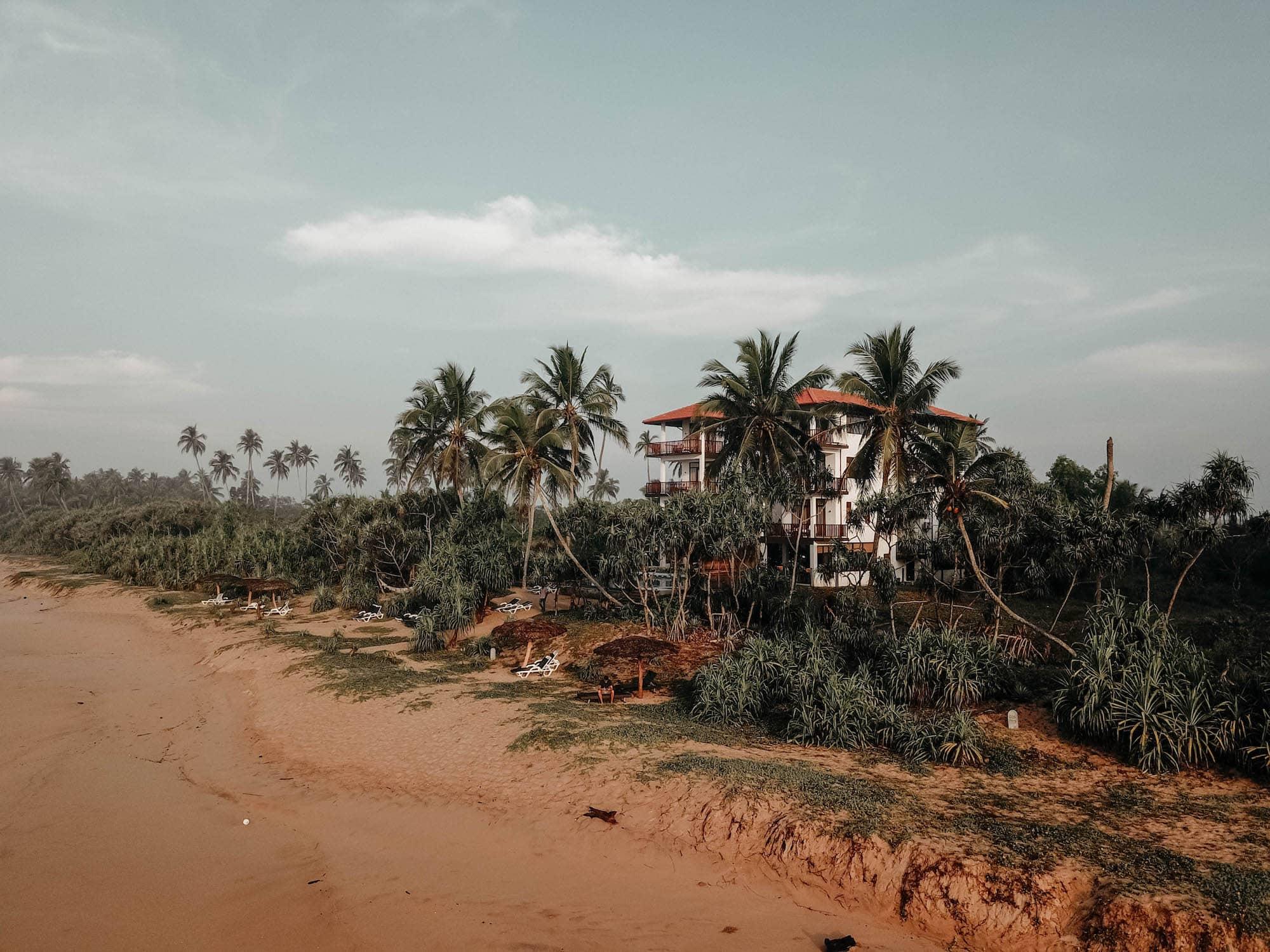 Hotel in Sri Lanka Tangalle Beach Ranna