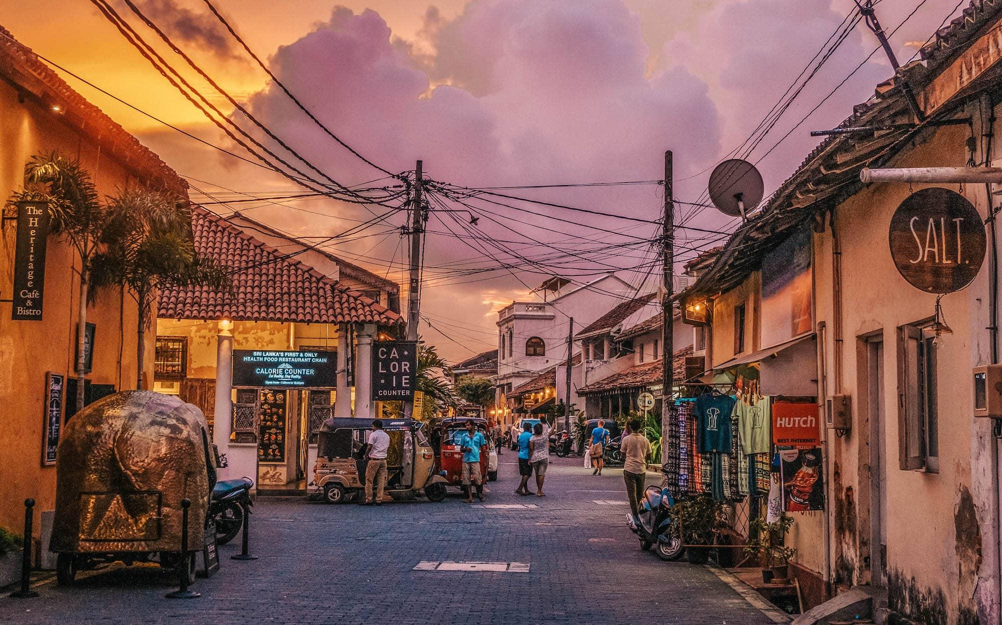Shopping in Sri Lanka Galle Fort