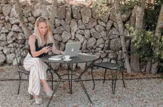 mobil arbeiten als influencer freelancer