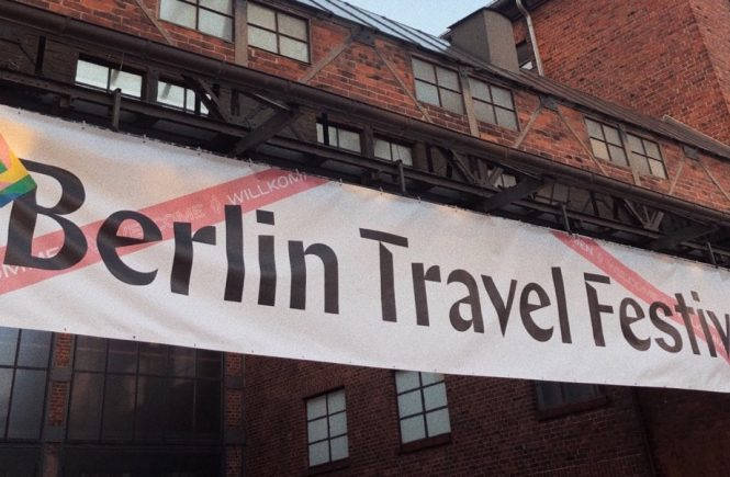 berlin travel festival eingang für blogger influencer