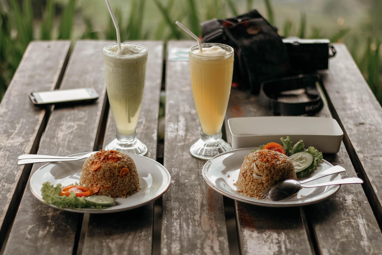 nasi goreng im warung in canggu