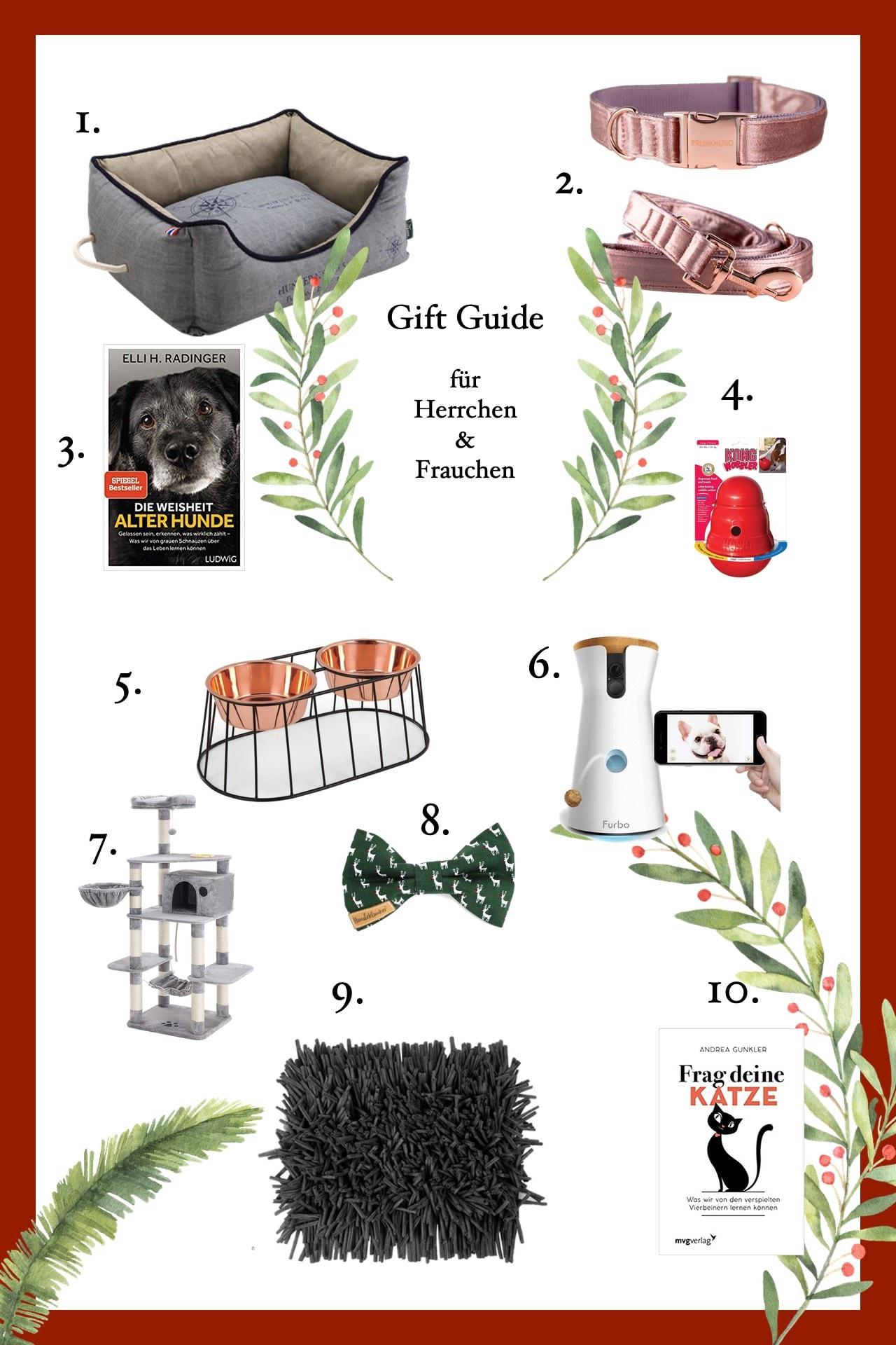 Weihnachtsgeschenkideen für Hundehalter & Katzenfreunde