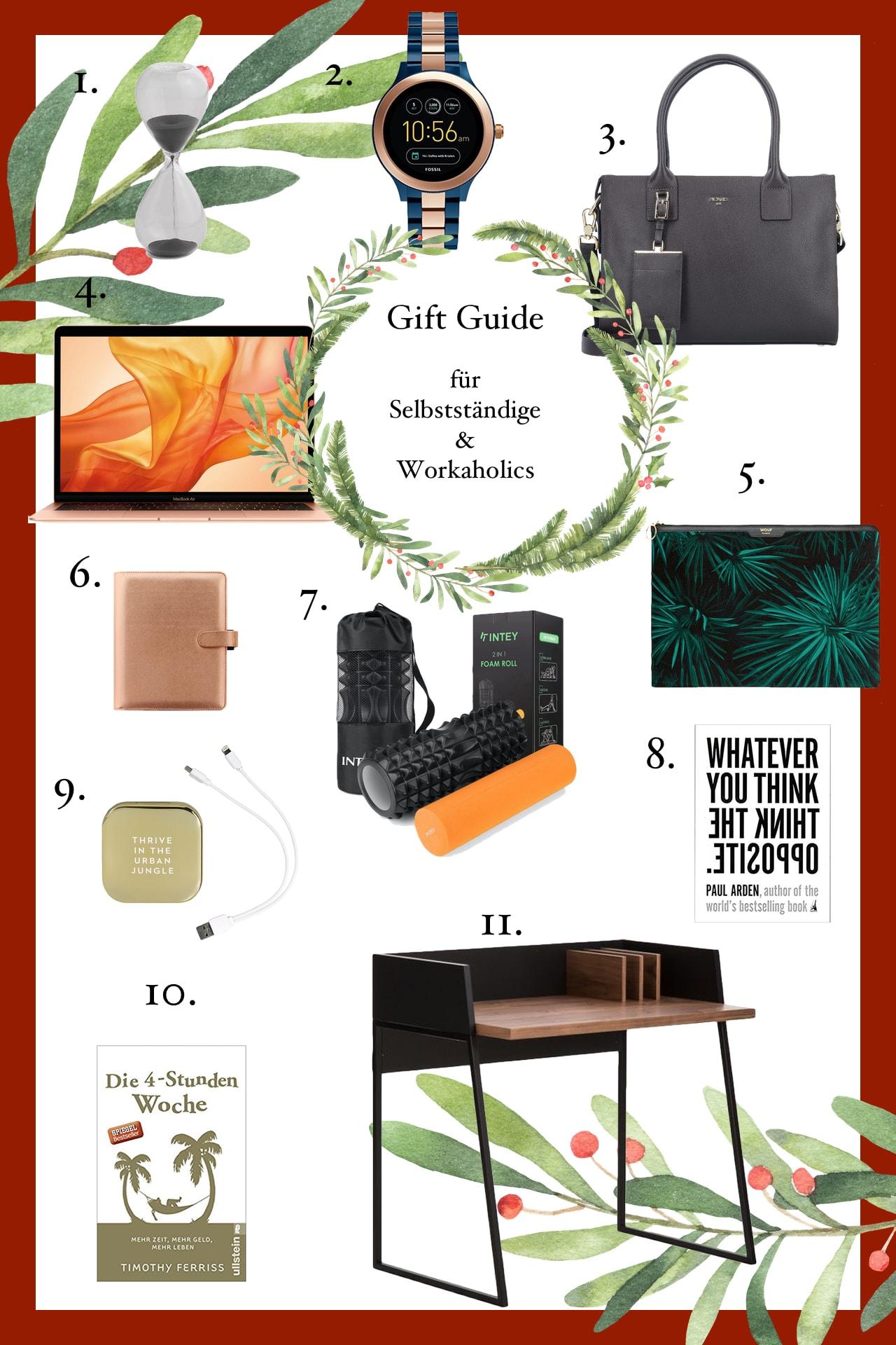 weihnachtsgeschenkideen für selbstständige