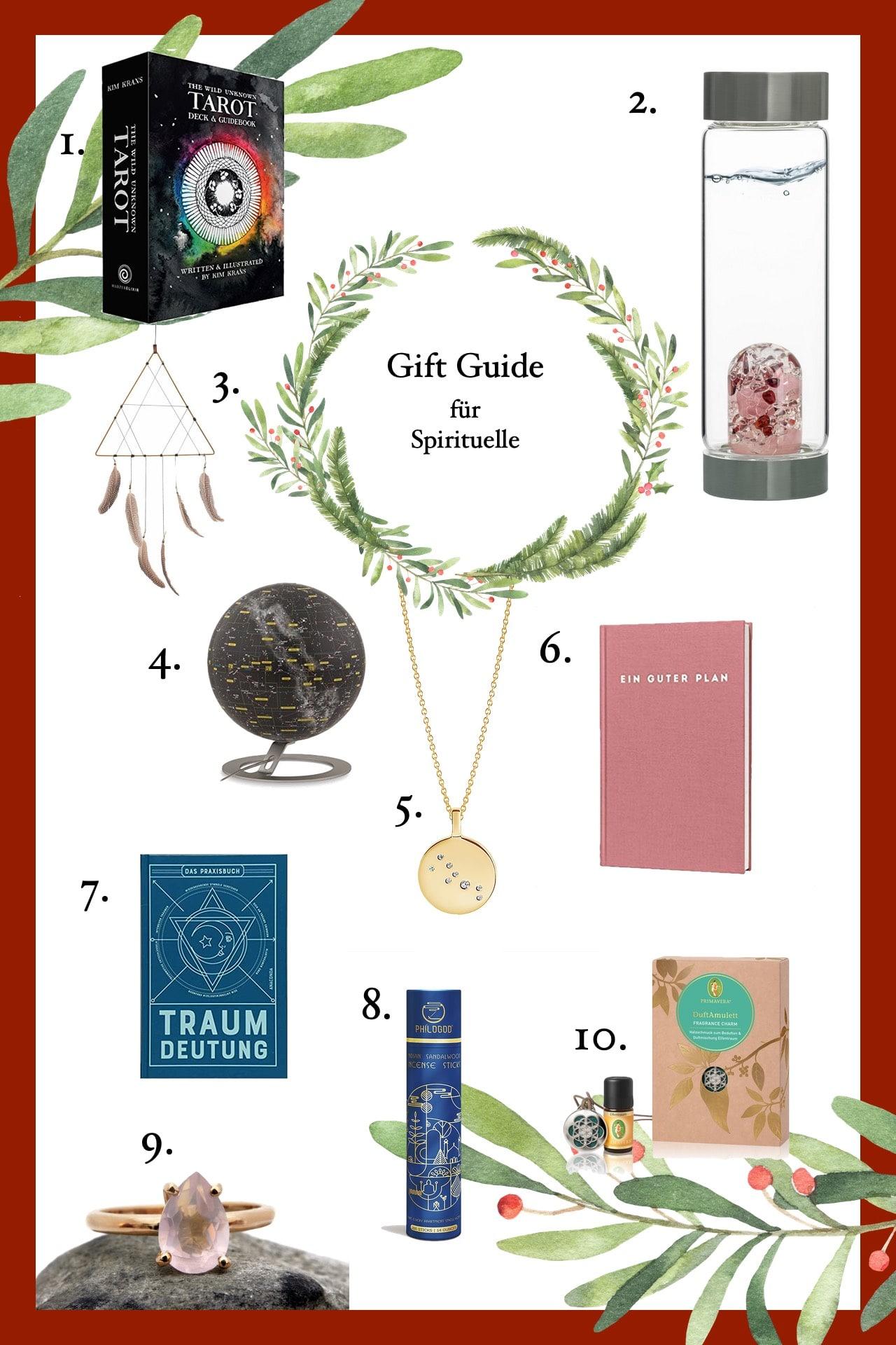Weihnachtsgeschenkideen für Yogis & Spirituelle
