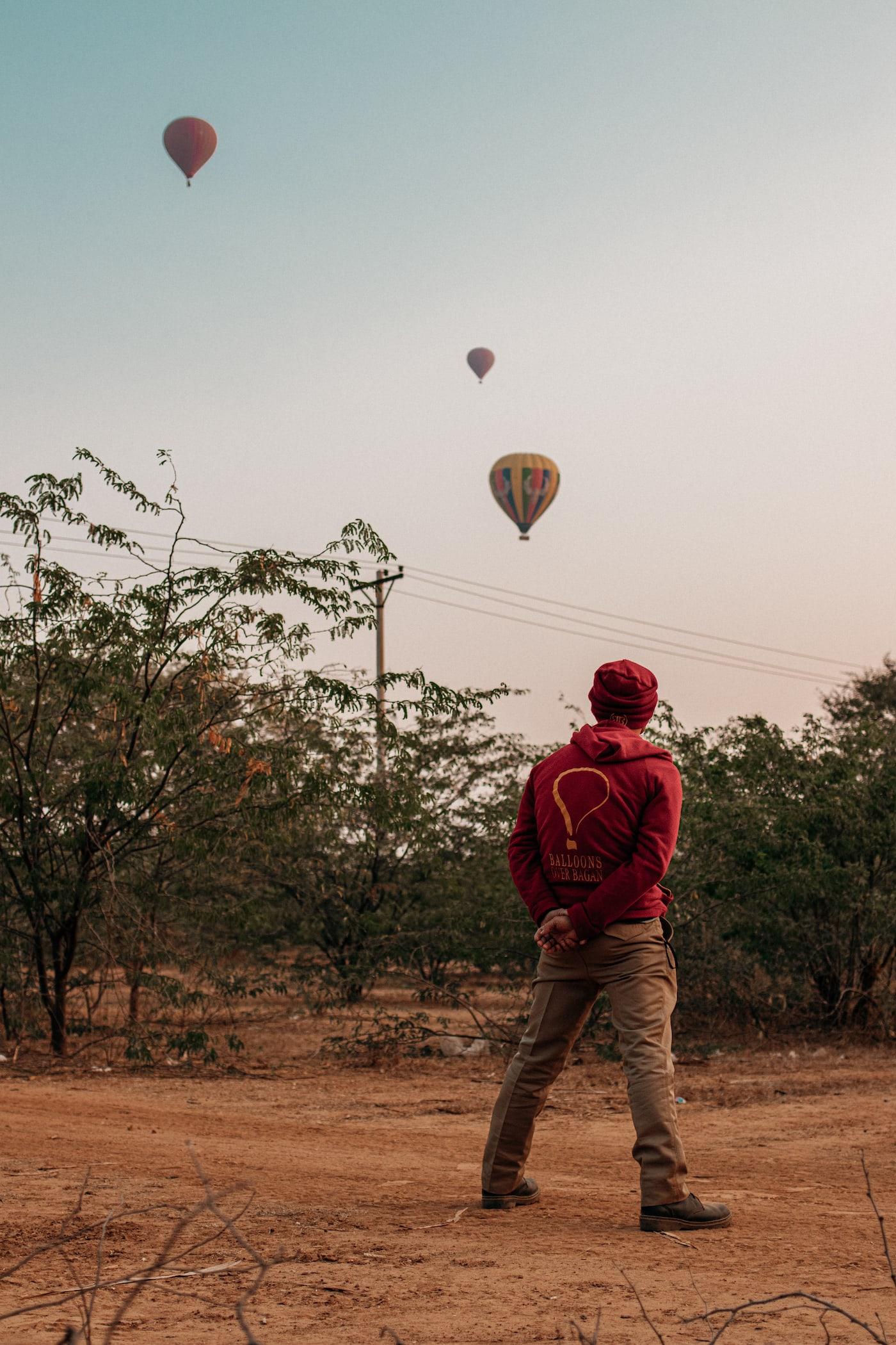 Balloonspotting Bagan