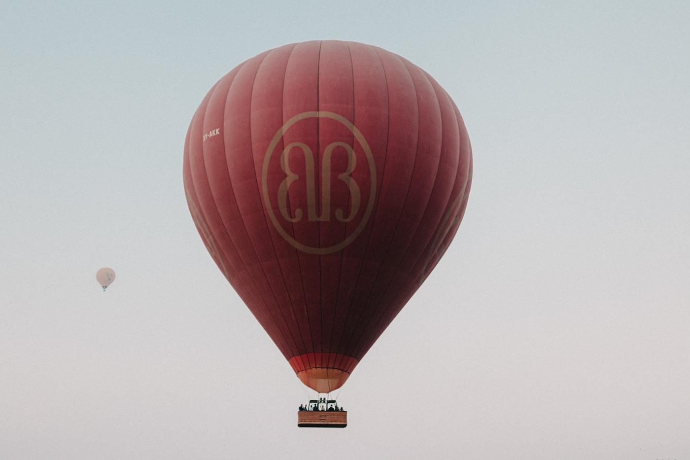 Ballonfahrt über Bagan Balloon