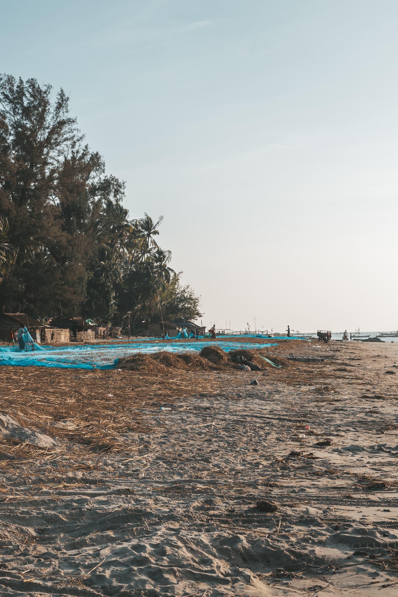 netze der fischer ngapali beach