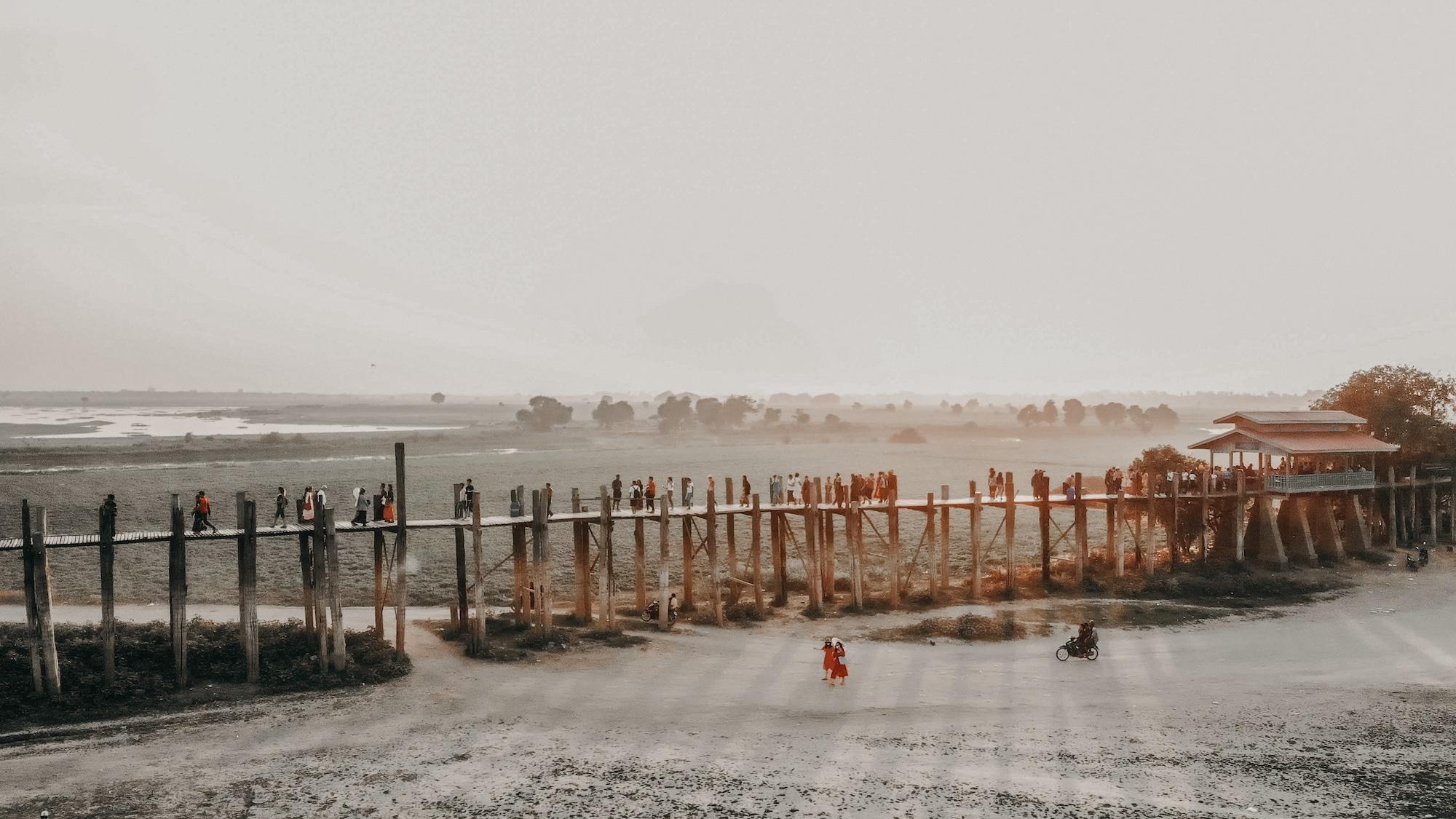 Sehenswürdigkeiten Mandalay U bein bridge
