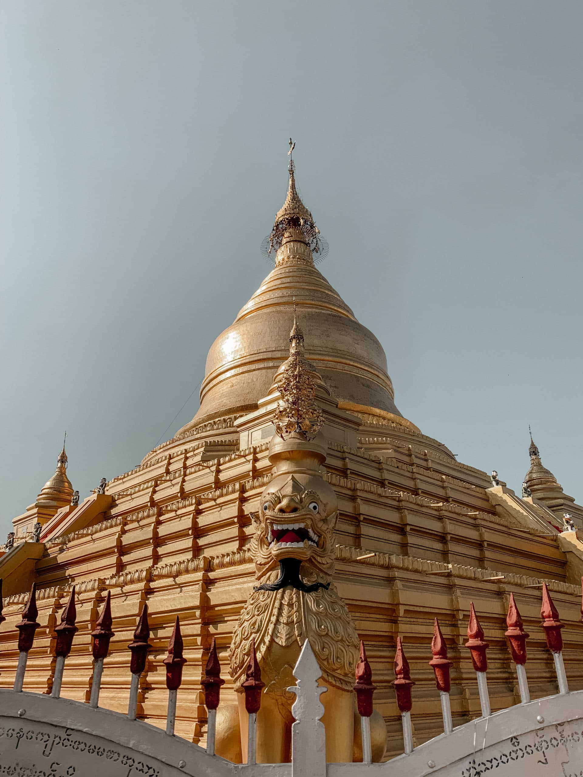 Sehenswürdigkeiten Mandalay goldene pagode