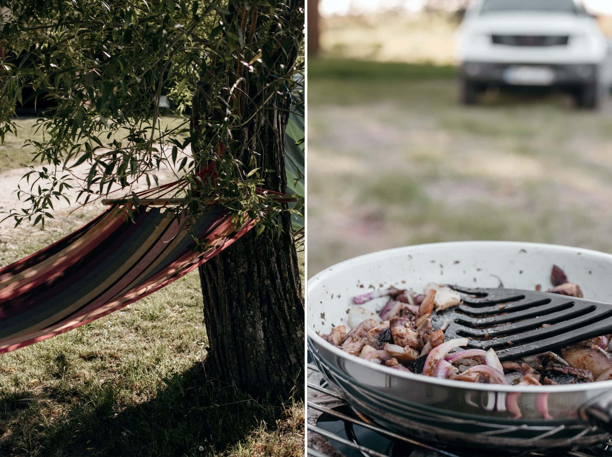 campingplatz kummerower see hängematte