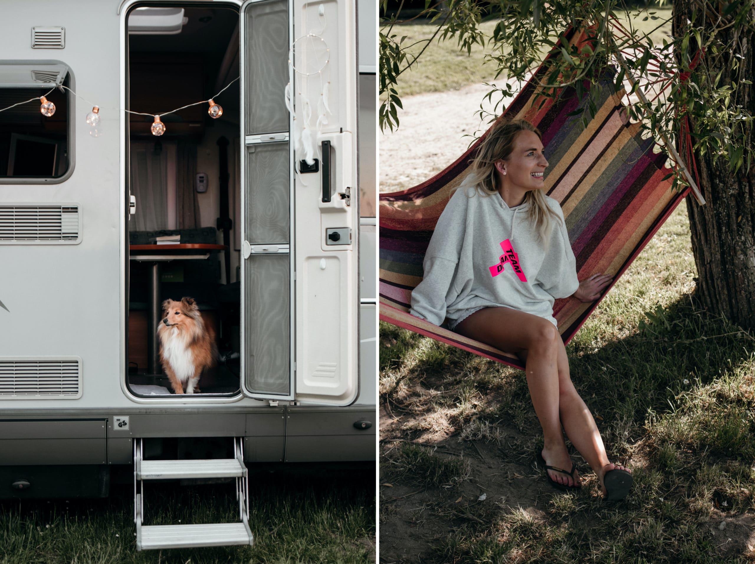 campingplatz mecklenburgische seenplatte hängematte