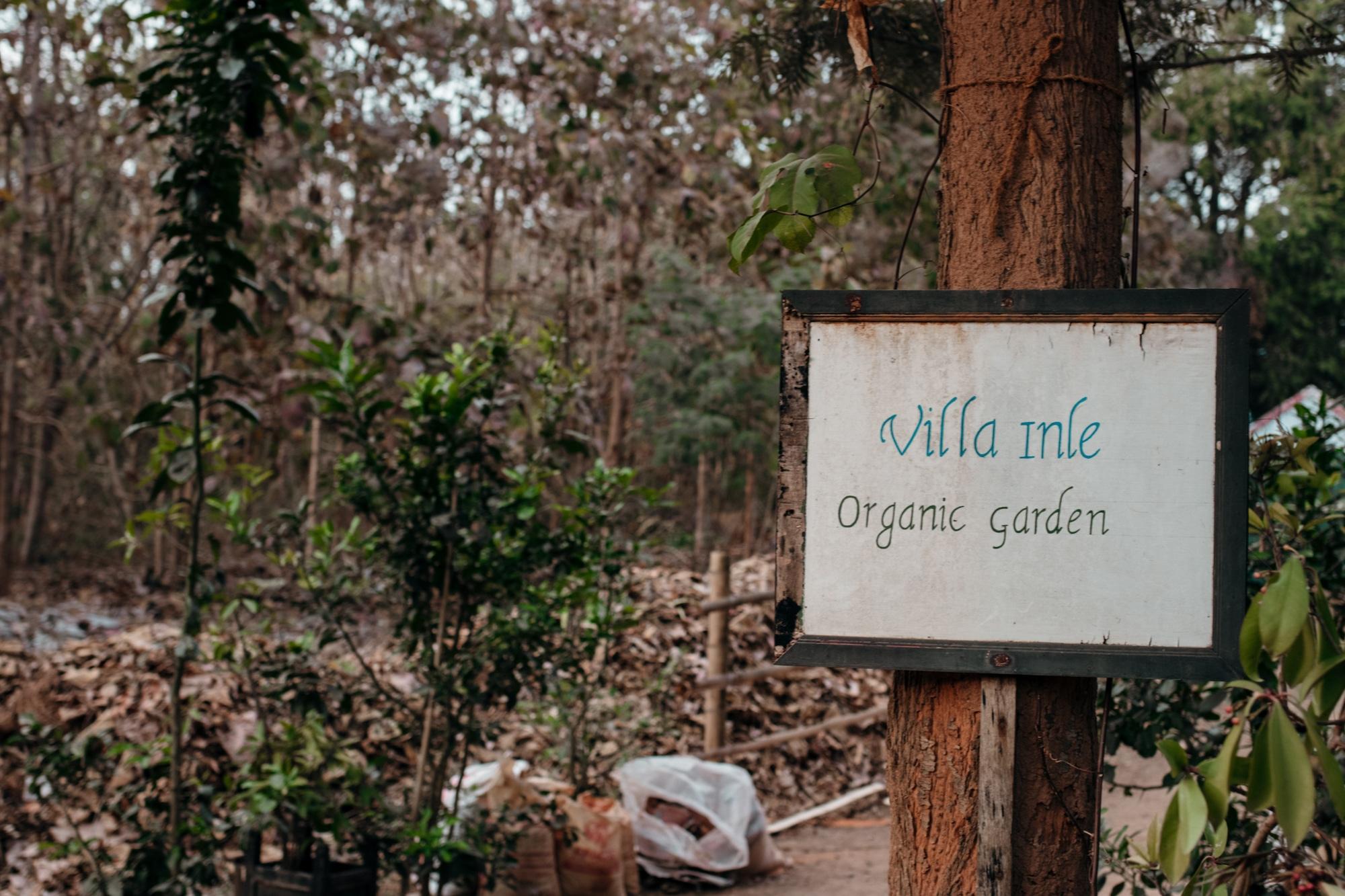 villa inle organic garden