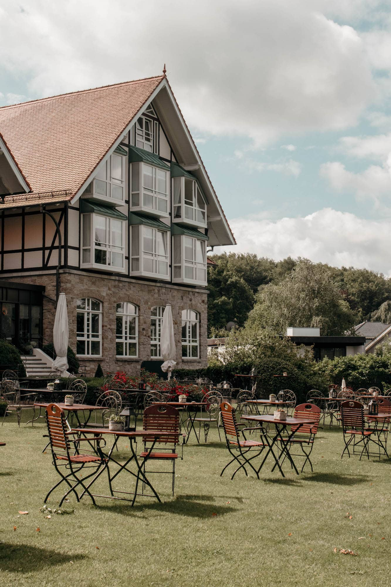 vitalhotel alter meierhof eingang terrasse