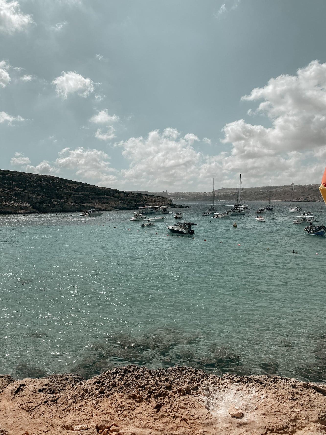 comino highlights blue lagoon