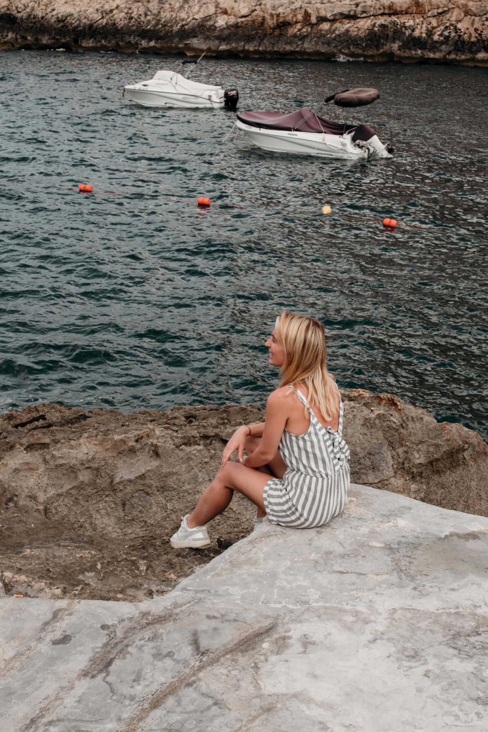 malta highlights bucht schwimmen