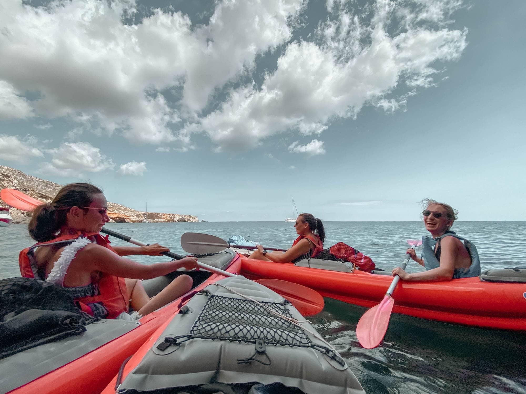kayaking tour malta