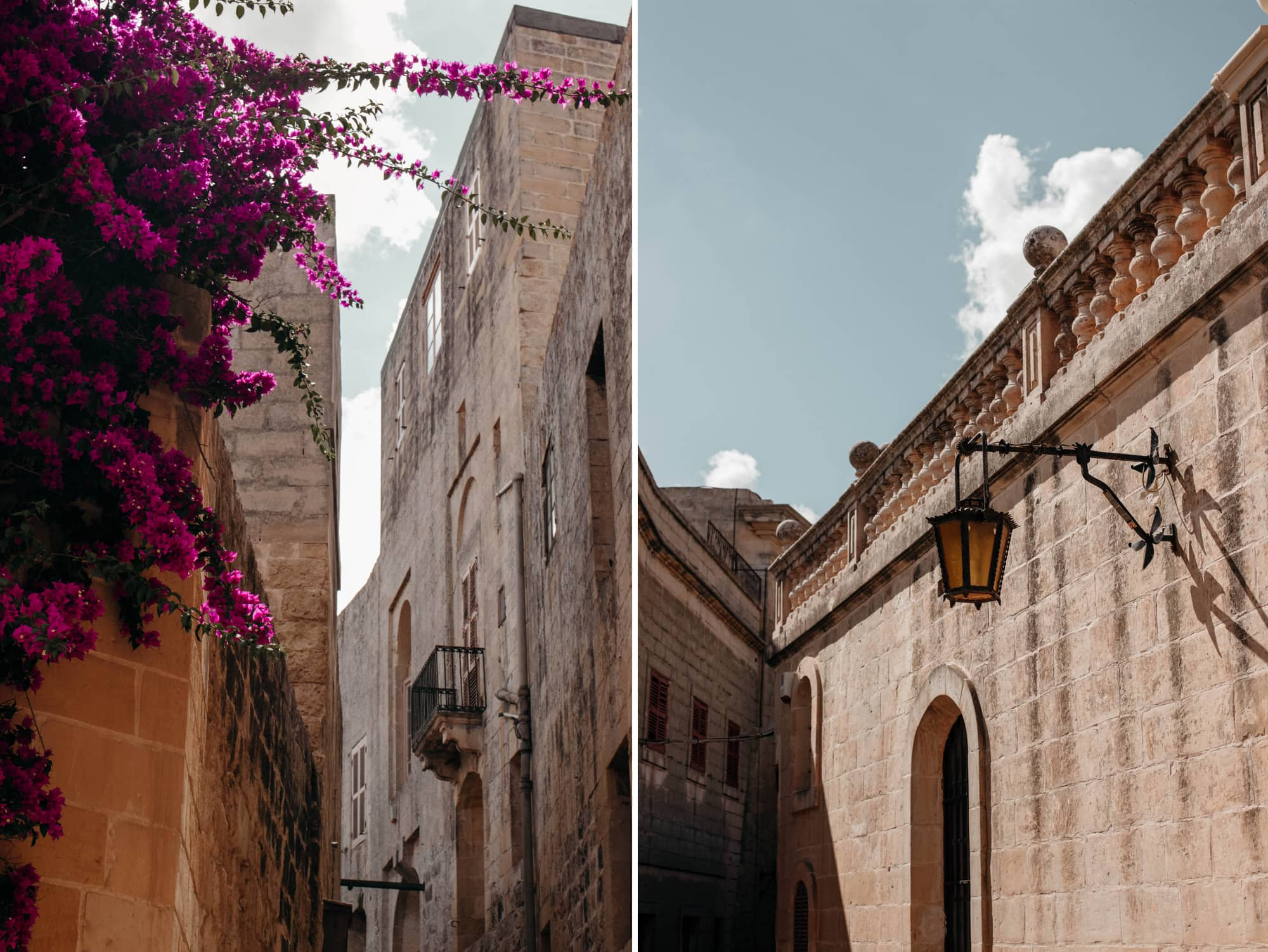 malta highlights mdina straßen