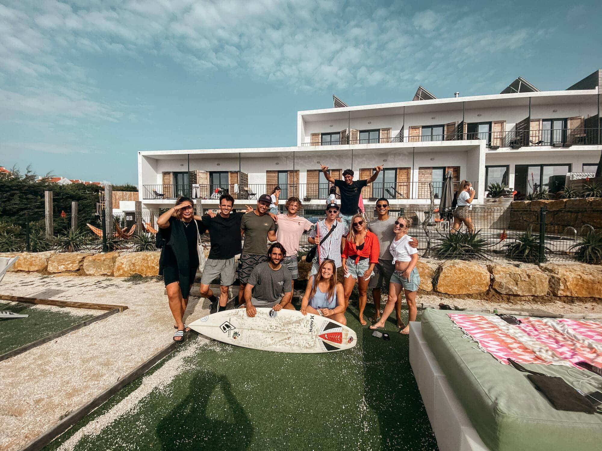 aktion surf hostel ericeira portugal