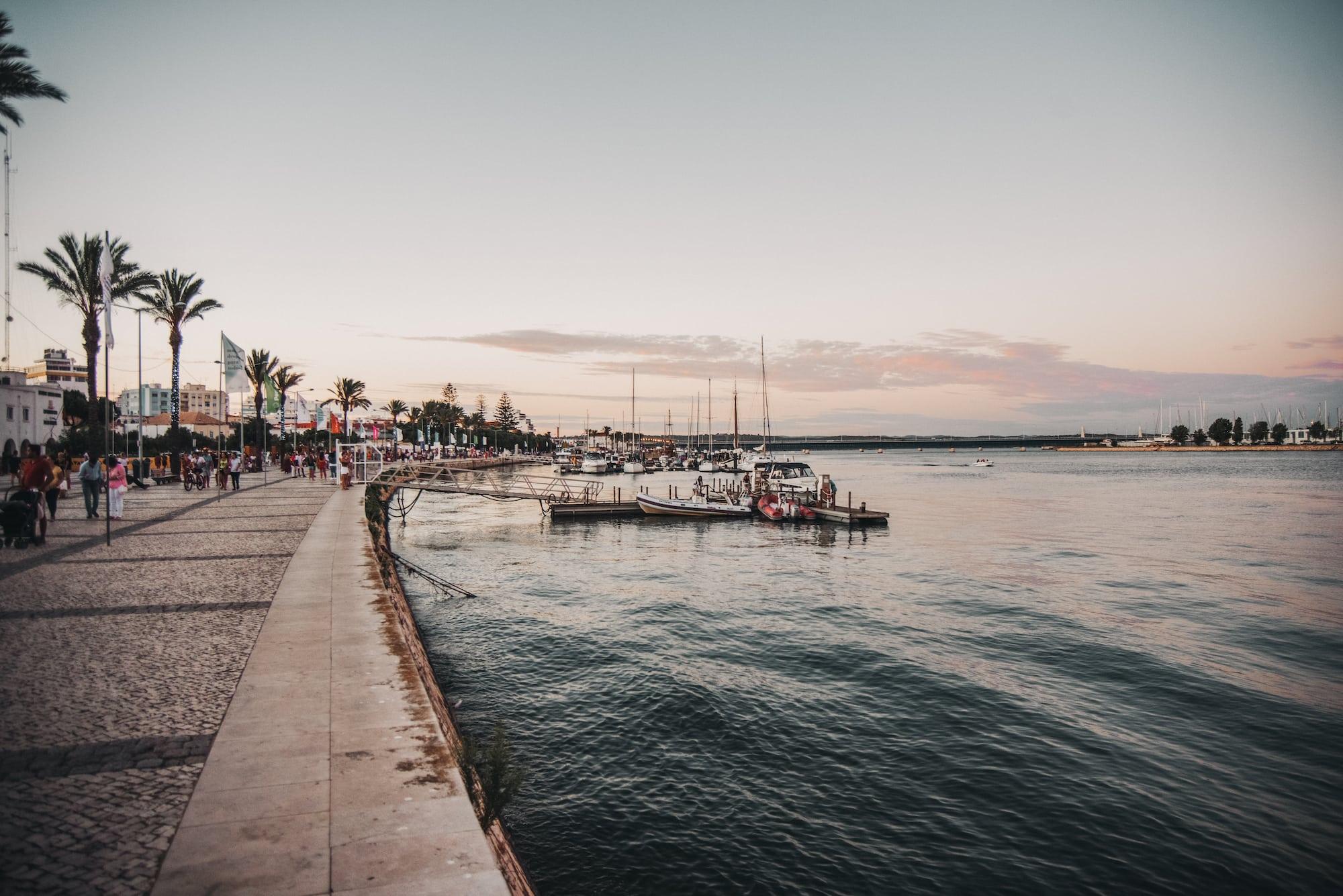 lagos marina promenade