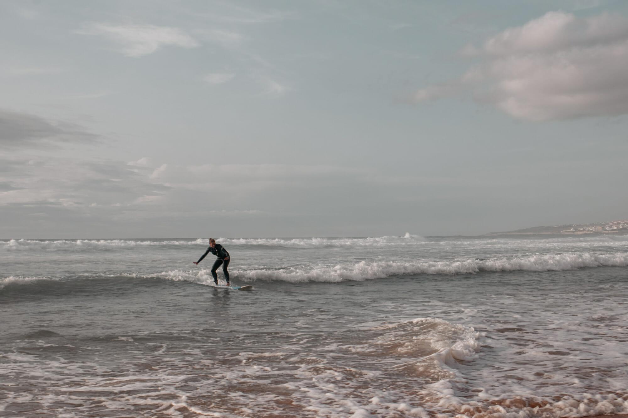ericeira surfing beach