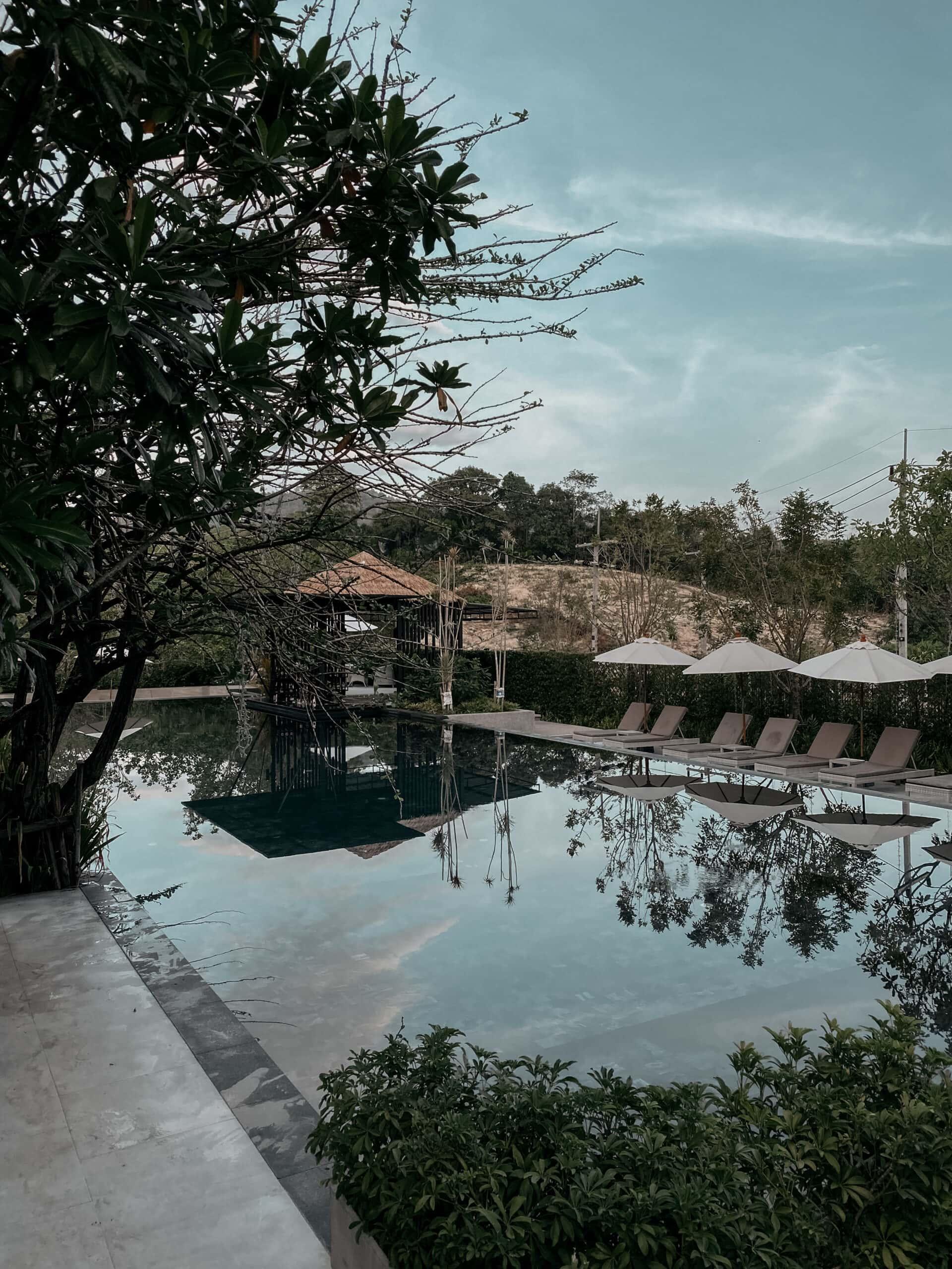 anana ecological resort ao nang pool