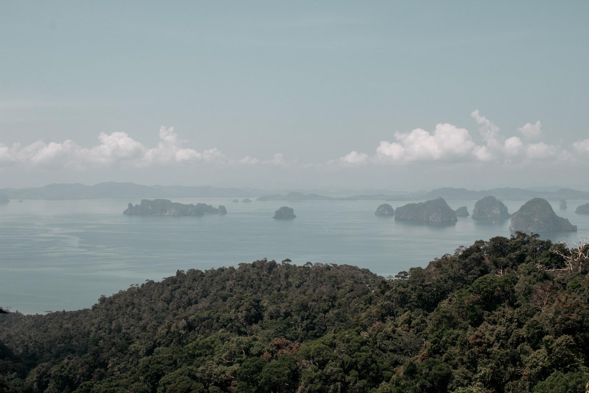 Khao Ngon Nak Nature Trail aussicht