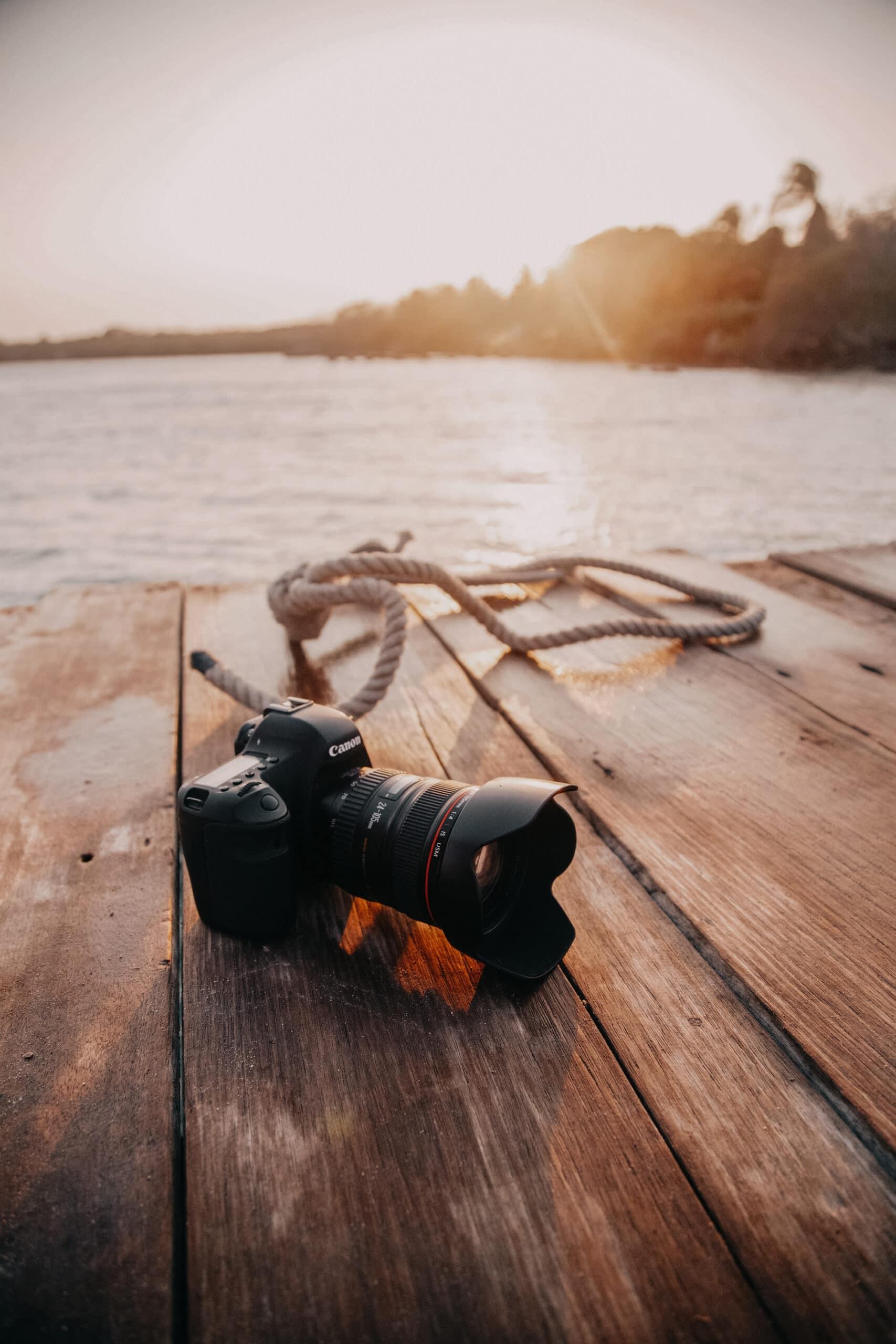 blogger kamera equipment canon objektive