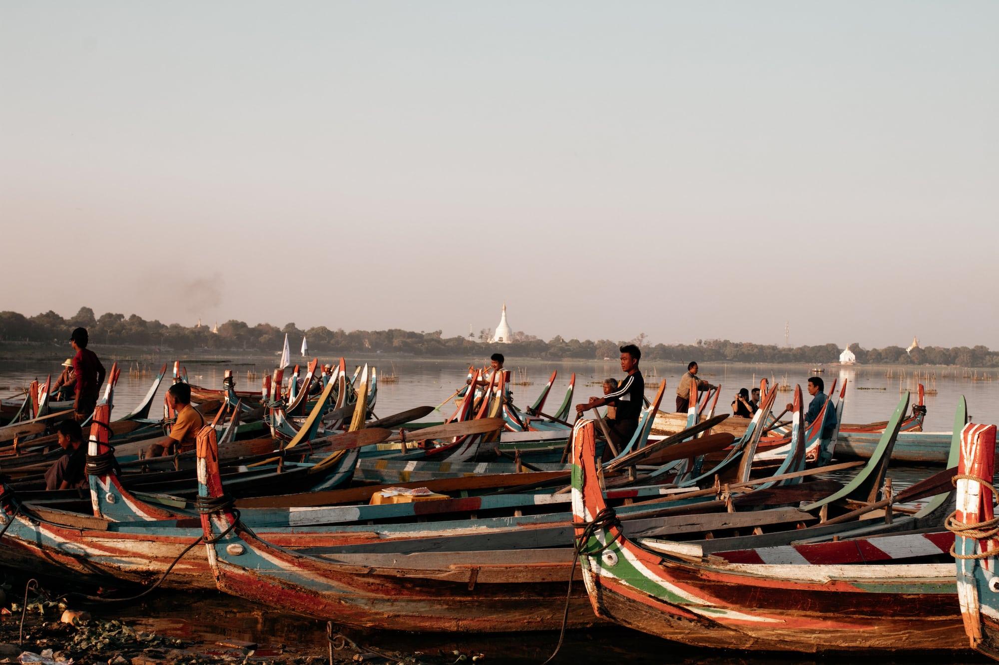 myanmar reiseroute u bein bridge