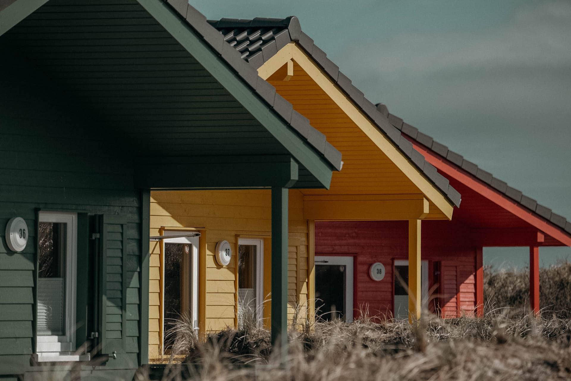 Helgoland Häuser Tagesausflug