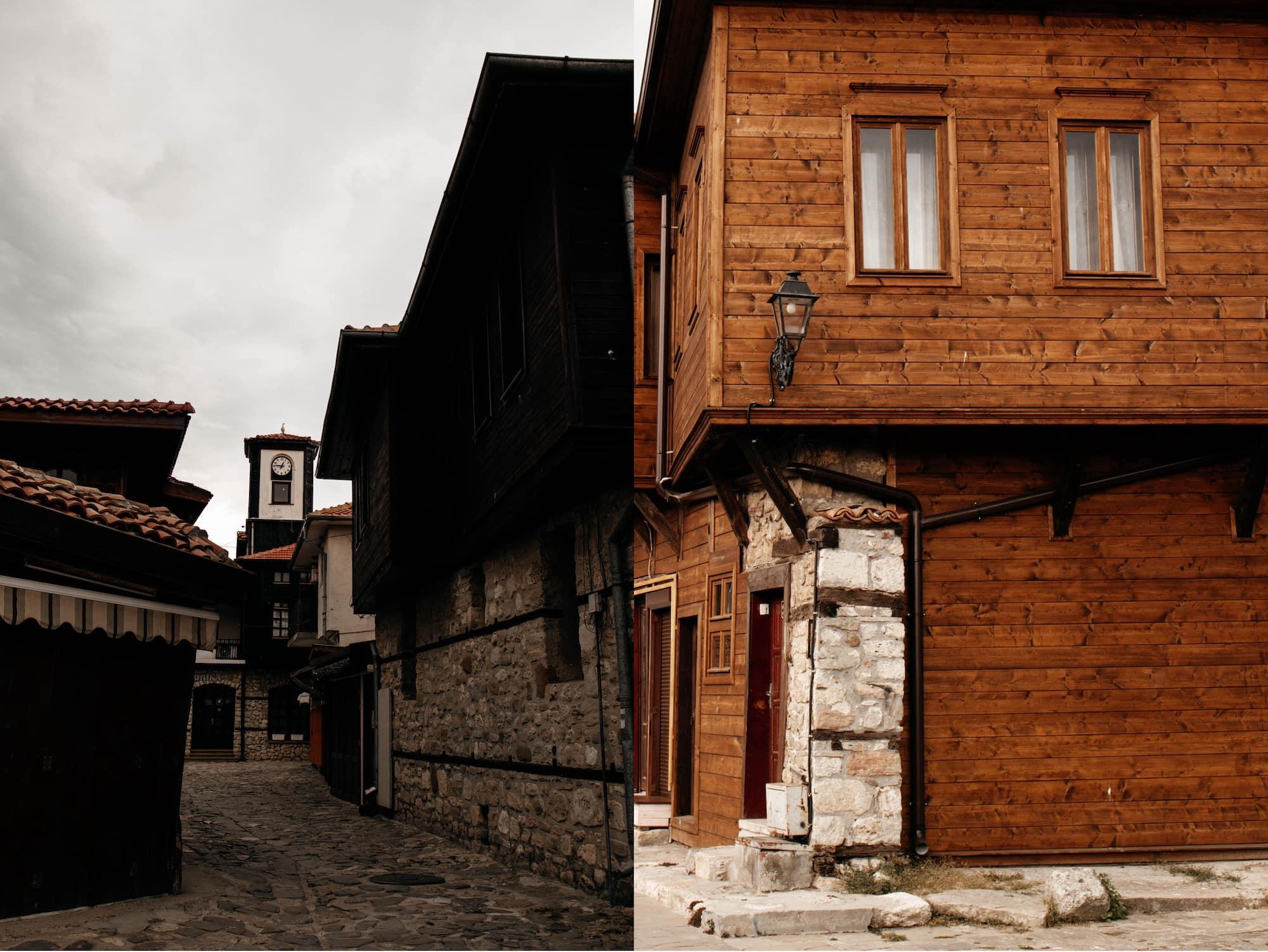 bulgarisches holzhaus