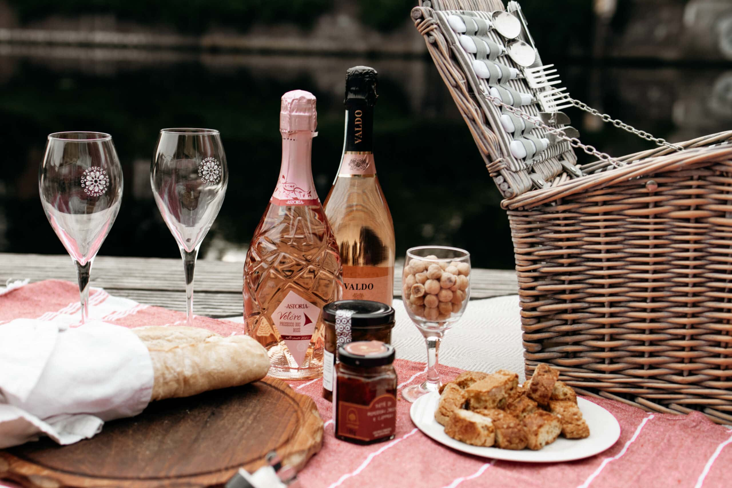 prosecco doc rosé picknick
