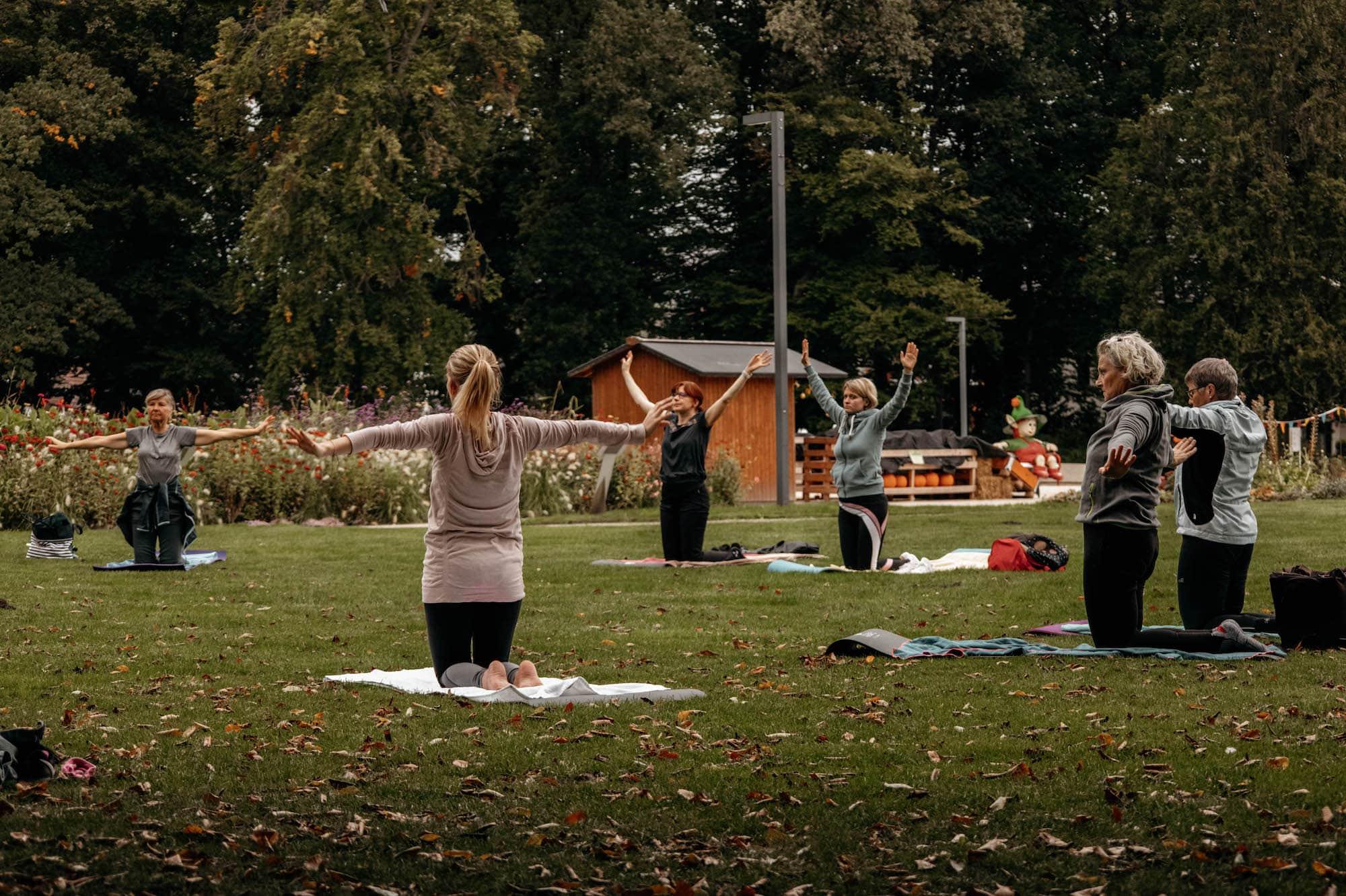 wellness yoga teutoburger park